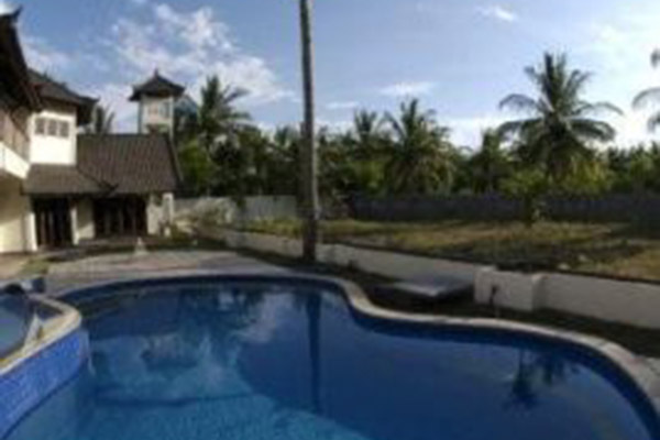 Swimming Pool, Baruna Villas, Gili Trawangan, lombok - Indonesia.