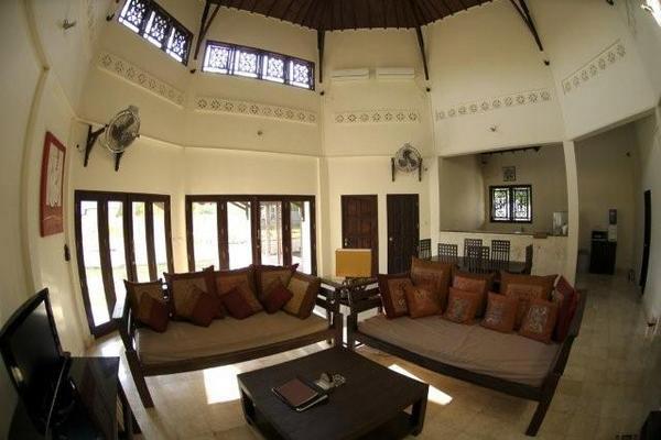 Living Room, Baruna Villas, Gili Trawangan, lombok - Indonesia.