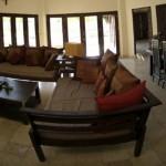 Living Room & Dinning Area, Baruna Villas, Gili Trawangan, lombok - Indonesia.