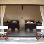 Twin Bedroom, Baruna Villas, Gili Trawangan, lombok - Indonesia.
