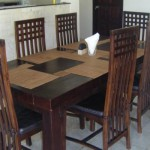 Dinning Table, Baruna Villas, Gili Trawangan, lombok - Indonesia.