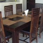 Dinning Table, Baruna Villas, Gili Trawangan, lombok - Indonesia.